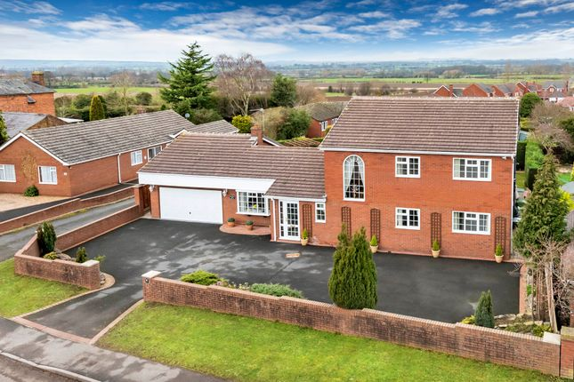 Thumbnail Detached house for sale in Station Road, Admaston, Telford, 0Ap.