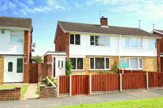 Thumbnail Semi-detached house for sale in Booth Way, Little Paxton, St. Neots