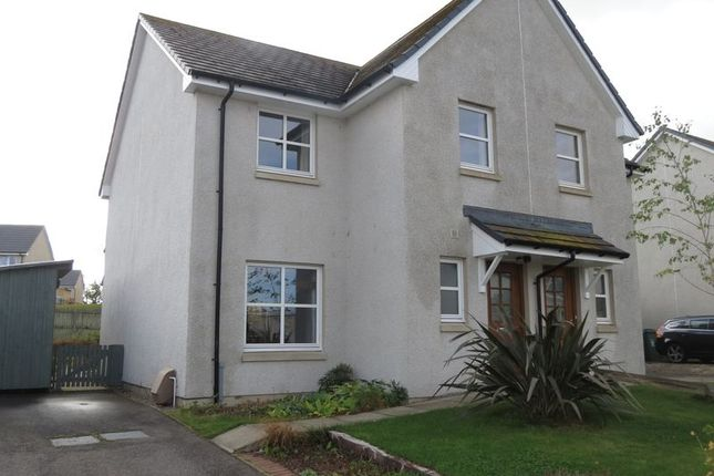 Thumbnail Semi-detached house for sale in Broomhill Road, Muir Of Ord