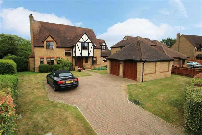 Thumbnail Detached house for sale in Selby Grove, Shenley Church End, Milton Keynes, Bucks