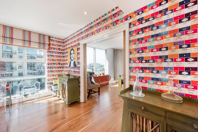 Bedroom / Office of Kingfisher House, Battersea Reach, London SW18