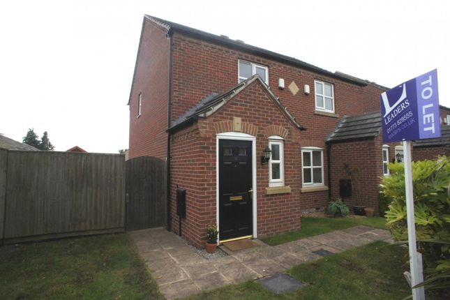 Thumbnail Semi-detached house to rent in Haslam Place, Belper, Derbyshire