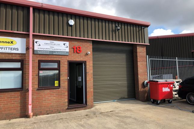 Thumbnail Industrial to let in Unit 18 Templars Way Industrial Estate, Unit 18, Templars Way Industrial Estate, Swindon