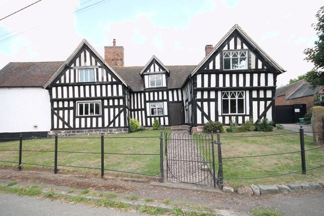 Thumbnail Detached house for sale in Bletchley, Market Drayton