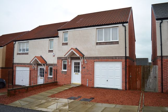 Thumbnail Semi-detached house to rent in Trinity Crescent, Kelty, Fife