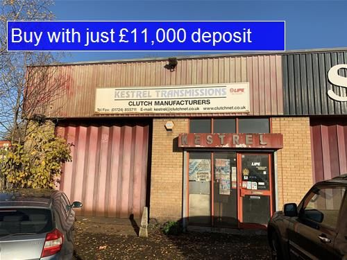 Parking/garage for sale in Holyrood Drive, Scunthorpe
