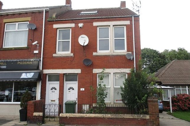 Thumbnail Flat to rent in Cowpen Road, Blyth