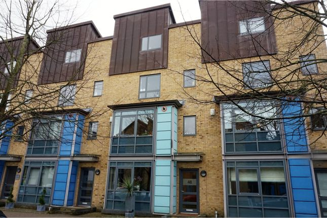 Thumbnail Town house for sale in The Chase, Harlow
