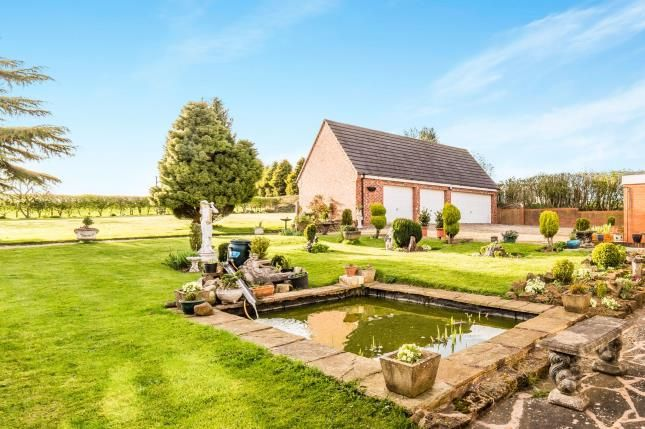 Garden of Stony Houghton, Mansfield, Derbyshire NG19