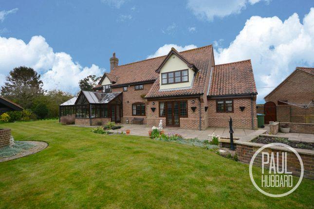 Thumbnail Detached house for sale in Gisleham Road, Gisleham, Suffolk
