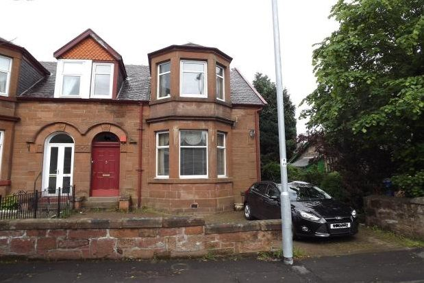 Thumbnail Semi-detached house to rent in Brisbane Street, Greenock