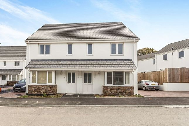 Thumbnail Semi-detached house for sale in Copper Meadows, Gwinear, Hayle