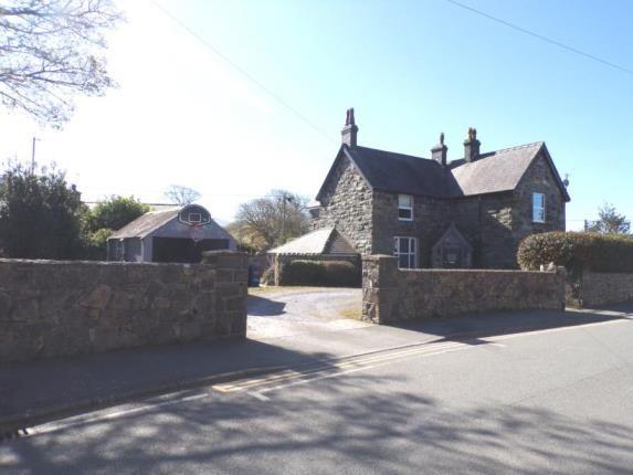 Thumbnail Detached house for sale in Bethel, Caernarfon, Gwynedd