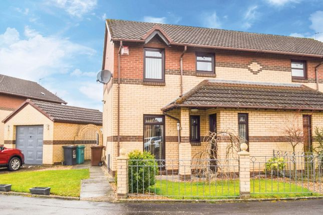 Thumbnail Semi-detached house for sale in Cameronian Place, Bellshill