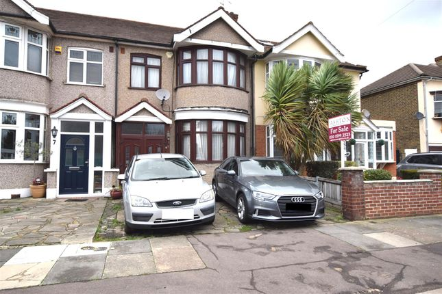 Thumbnail Terraced house for sale in Norbury Gardens, Chadwell Heath, Romford
