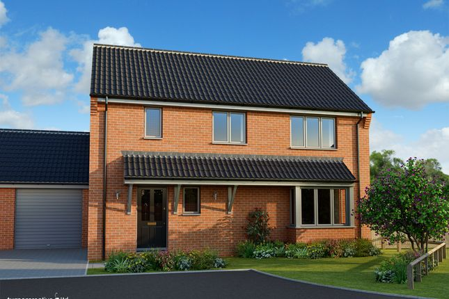 Thumbnail Detached house for sale in Back Lane, Mileham
