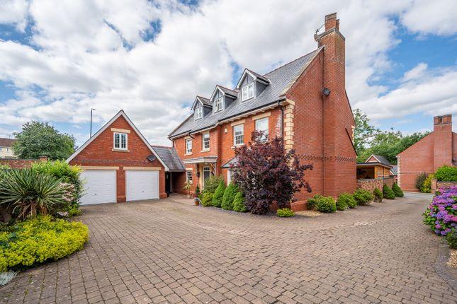 Thumbnail Detached house for sale in Cwrt Bryn Derwen, Usk