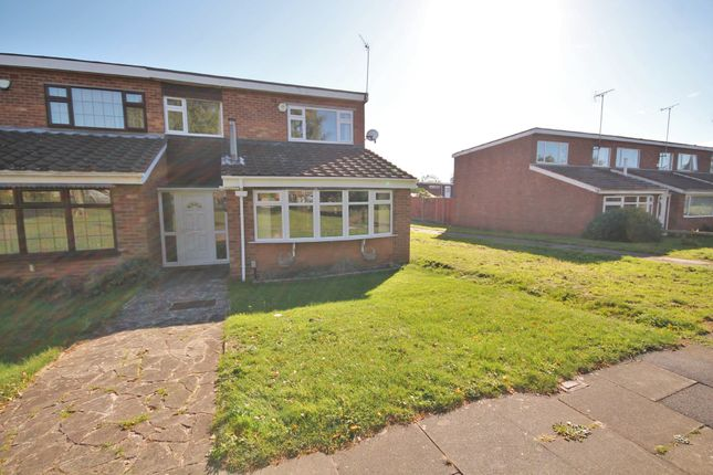 Thumbnail End terrace house to rent in Beamish Close, Walsgrave On Sowe, Coventry