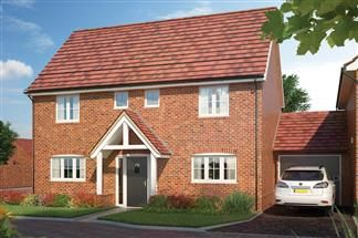 Thumbnail Link-detached house for sale in Off Bessle's Way, Blewbury Didcot, Oxfordshire