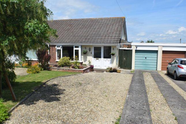 Thumbnail Semi-detached bungalow for sale in Mount View, Woolavington, Bridgwater