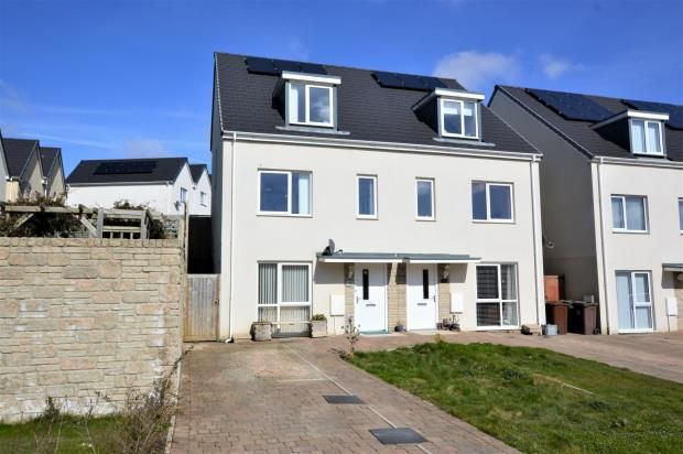 Thumbnail Semi-detached house for sale in Woodville Road, Plymouth, Devon