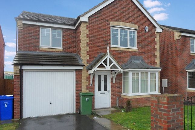 Thumbnail Detached house for sale in Otus Grove, Blyth