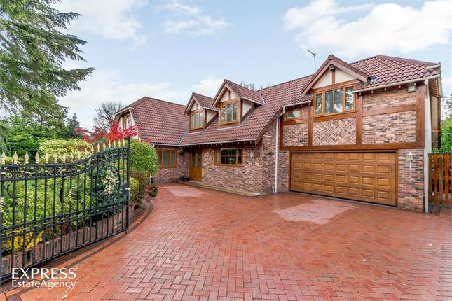 Thumbnail Detached house for sale in Eaton Close, Cheadle Hulme, Cheadle, Cheshire