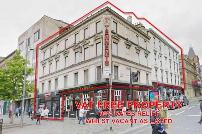 Thumbnail Commercial property for sale in 80-82, Sauchiehall Street, Glasgow G23De