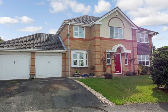 Thumbnail Detached house for sale in Dene Close, Felton, Morpeth