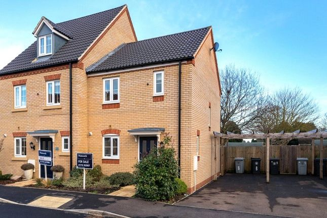 Thumbnail End terrace house to rent in Thirsk Close, Bourne, Lincolnshire