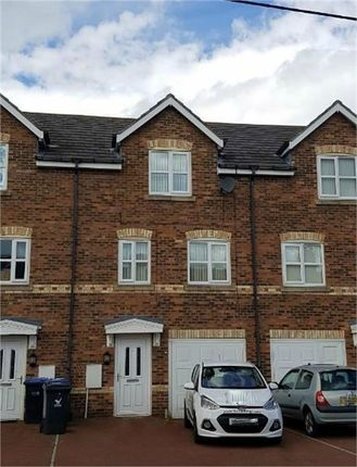 Thumbnail Town house to rent in St Benets Court, Perkinsville, Pelton, Chester Le Street, Durham