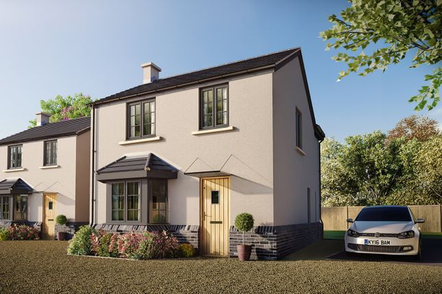 Thumbnail Detached house for sale in Cross Street, Caerleon, Newport