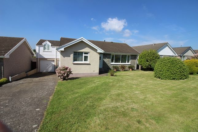 Thumbnail Detached bungalow for sale in Silverstream Drive, Hakin, Milford Haven, Pembrokeshire.