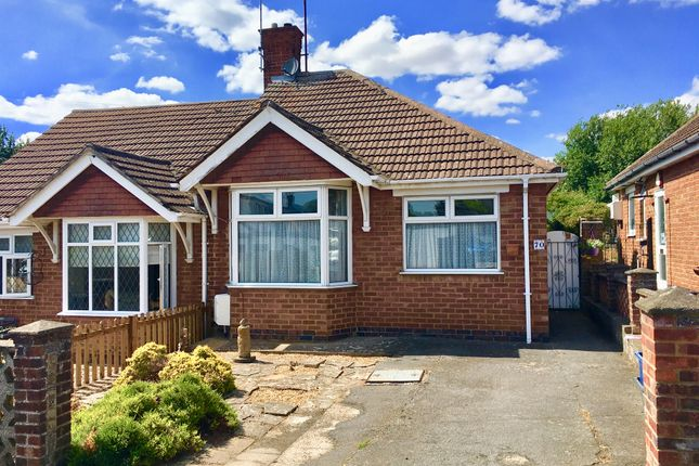 Thumbnail Semi-detached bungalow for sale in Bishops Drive, Old Kingsthorpe, Northampton