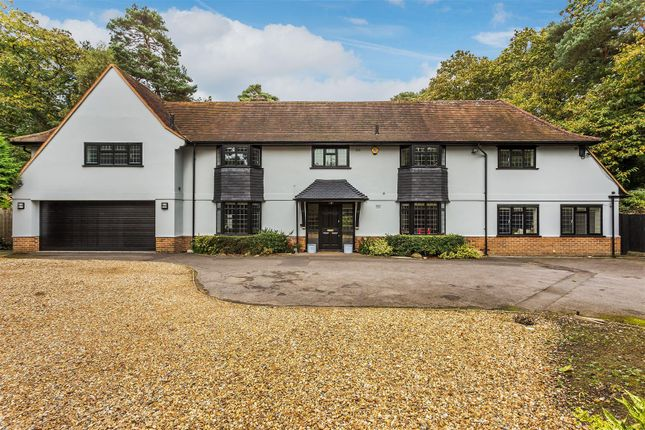 Thumbnail Detached house for sale in Woodham Lane, Woking