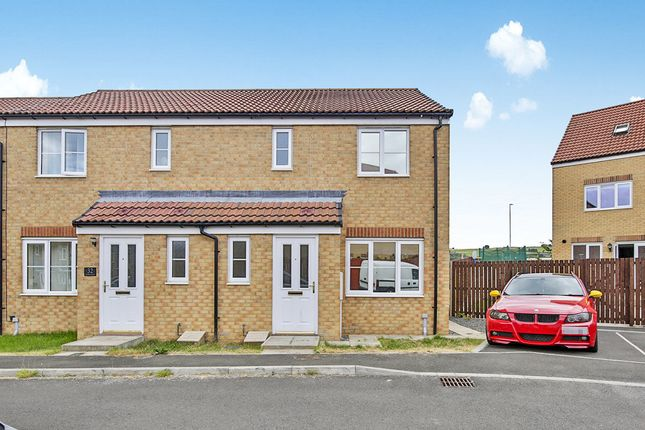 Thumbnail Terraced house for sale in Kielder Drive, The Middles, Stanley