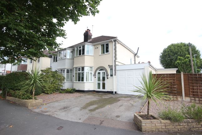 3 bed semi-detached house for sale in Barrington Road, Solihull B92