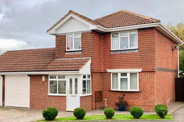 Thumbnail Detached house for sale in Brendon Close, Eastbourne