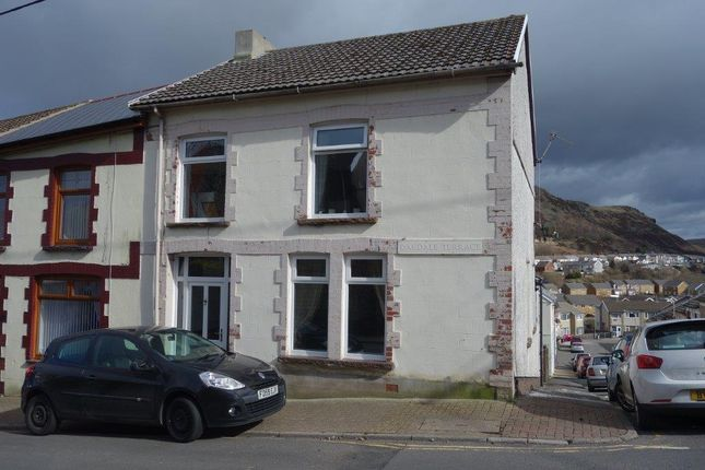 Thumbnail Terraced house to rent in Oakdale Terrace, Tonypandy