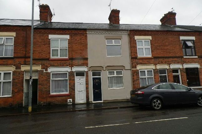 Thumbnail Terraced house to rent in Countesthorpe Road, Wigston
