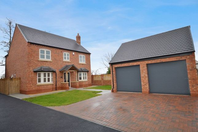 Thumbnail Detached house for sale in Primrose House, Rushmoor, Nr Telford, Shropshire.