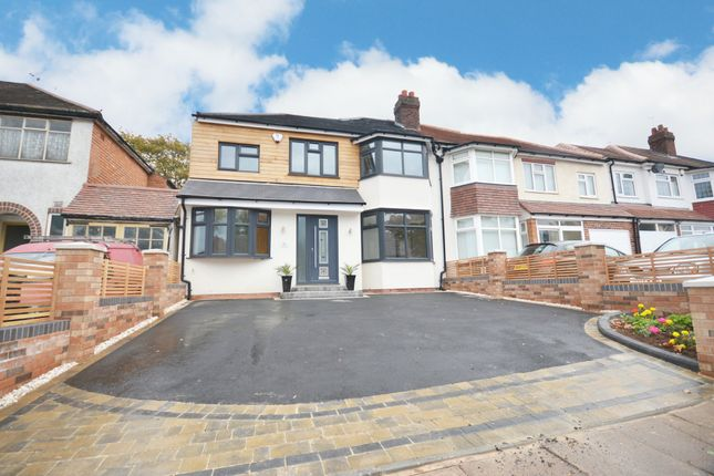 Thumbnail Semi-detached house for sale in Painswick Road, Hall Green, Birmingham