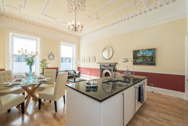 Thumbnail Flat to rent in Palmerston Place, West End 5Af