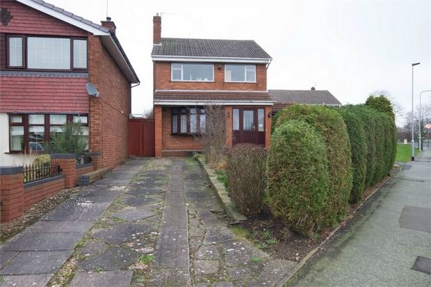 Thumbnail Detached house for sale in Whitehouse Avenue, Wednesfield, Wolverhampton, West Midlands