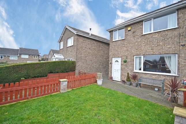 Thumbnail Semi-detached house for sale in Hazel Grove, Flockton, Wakefield