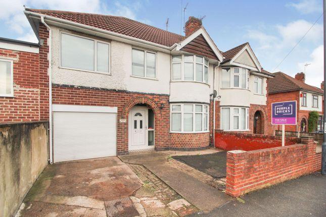 5 bed semi-detached house for sale in Wilsthorpe Road, Chaddesden, Derby DE21