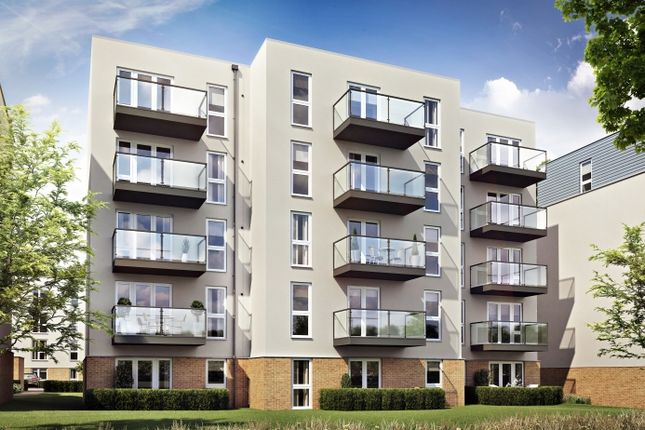 Thumbnail Flat for sale in Bleriot Gate, Addlestone