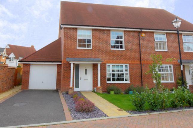 Thumbnail Semi-detached house for sale in Blackthorn Avenue, Billingshurst