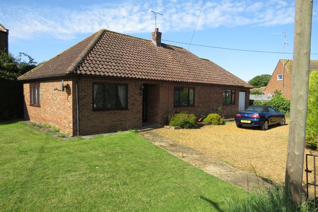 Thumbnail Detached bungalow for sale in Malthouse Crescent, Heacham, King's Lynn