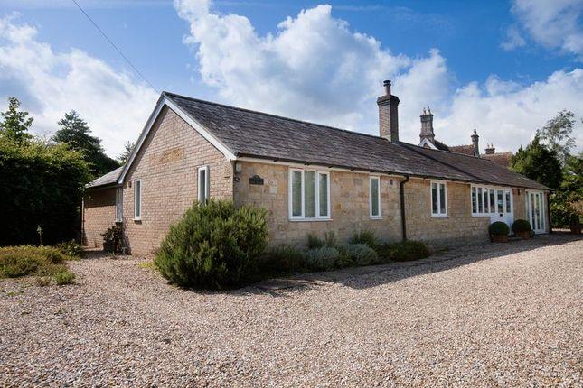 Thumbnail Detached bungalow for sale in Manston, Sturminster Newton